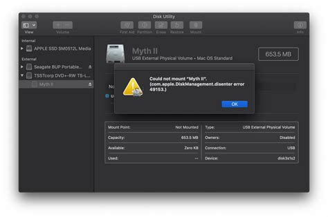 Recover data from HFS volume when Disk Utility fails with