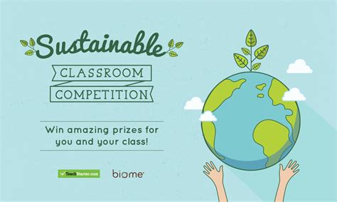 Sustainable Classroom Competition - Teach Starter Blog