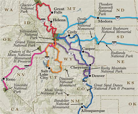6 Best Road Trips to Yellowstone with Itineraries and Maps