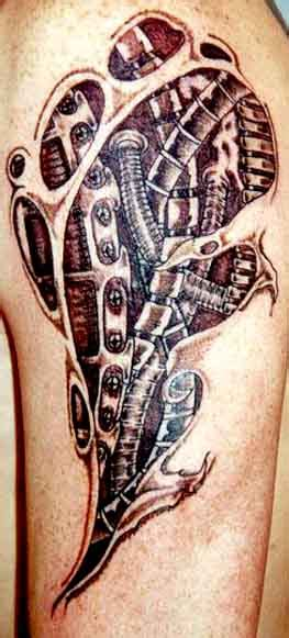 BioMechanic Tattoo Pictures | Tattoo Picture, Photos and