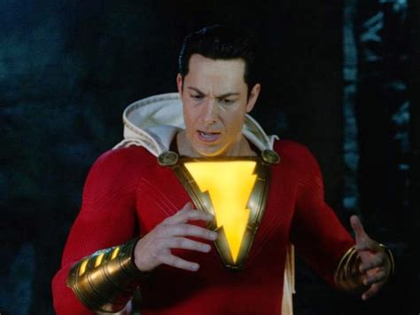 Zachary Levi explores his super powers in first 'Shazam