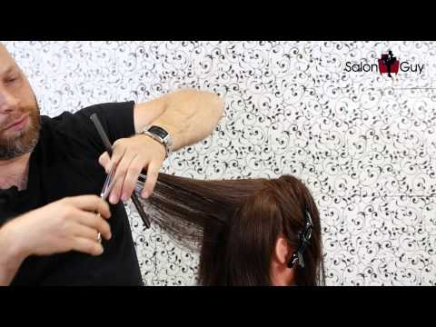 3 Ways to Cut Hair in Layers - wikiHow
