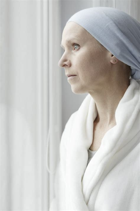 Sad woman with breast cancer - Learn About Surrogacy And