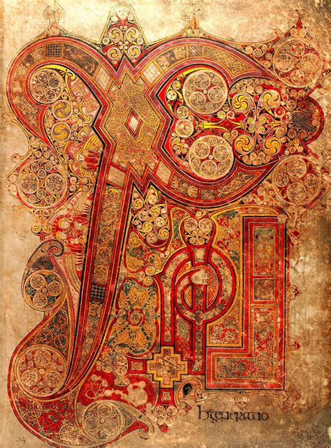 The Book of Kells - Ms