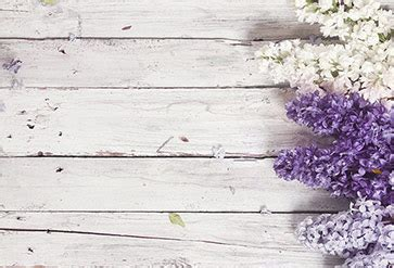 Shop Lilac With Wood Wallpaper in Flowers & Leaves Theme