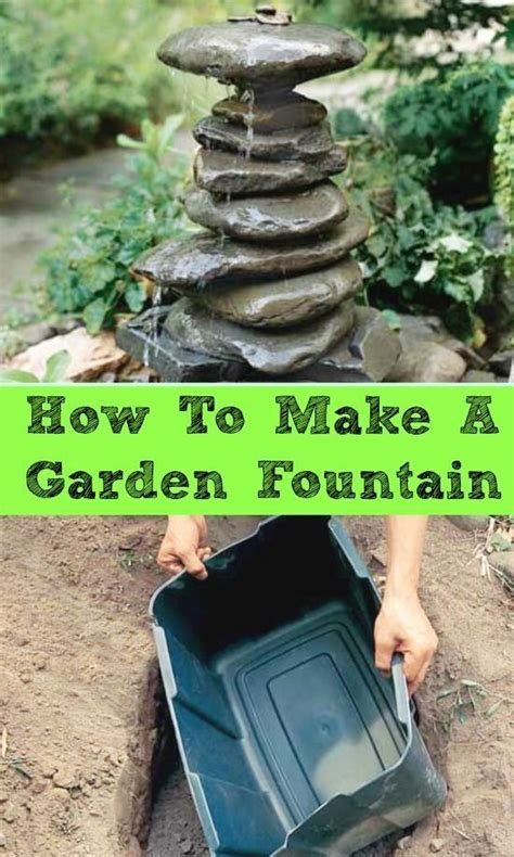 How To Make A Garden Fountain Pictures, Photos, and Images