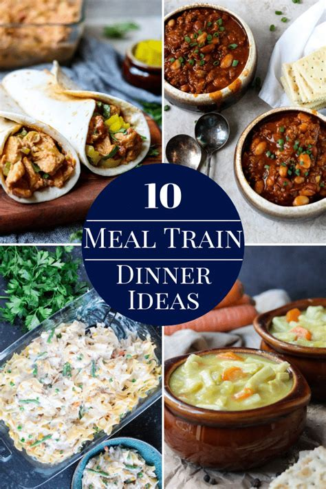 10 Meal Train Dinner Ideas with Recipes | Mom's Dinner