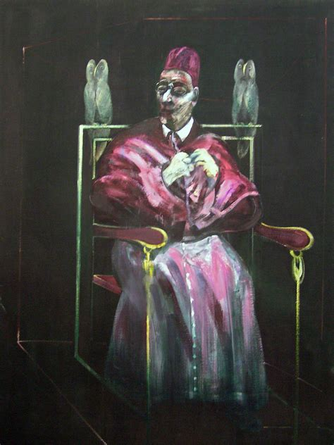 The Pope and the Owls   Francis Bacon - Le Pape Aux Hiboux