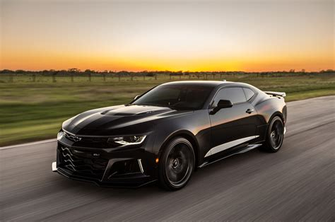 Watch the Hennessey Exorcist Camaro ZL1 Unleash its 1,000