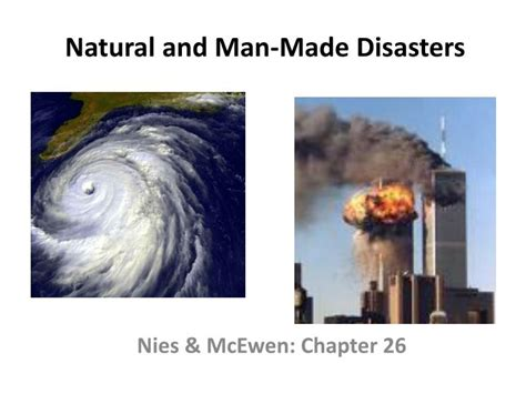 Pictures Of Natural And Man Made Disaster - Images All