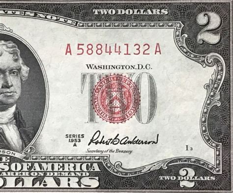 2 Dollar Bill Uncirculated - Collecting Coins - Rare And