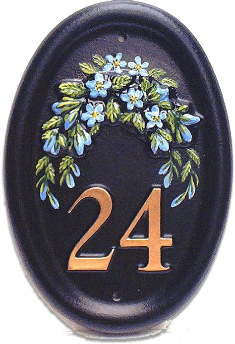 Forget Me Nots | Flower House Signs | Village Green Signs