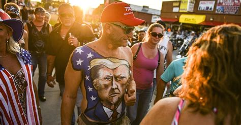 Maskless Bikers Party as 250,000 Expected For Sturgis Rally