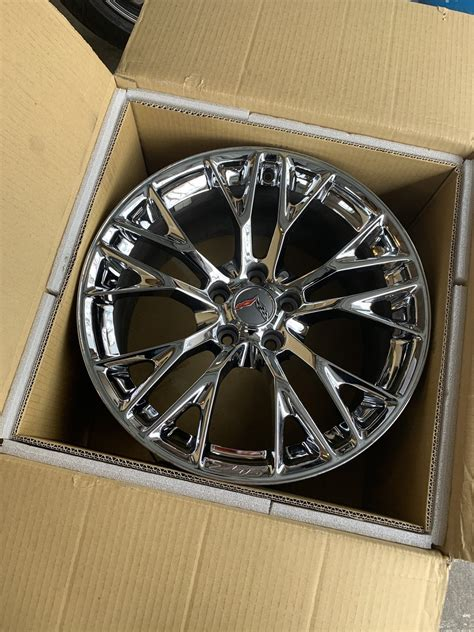 FS (For Sale) Z06 chrome wheels - Baltimore County, MD