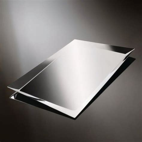 Super mirror finished stainless steel - Stainless steel
