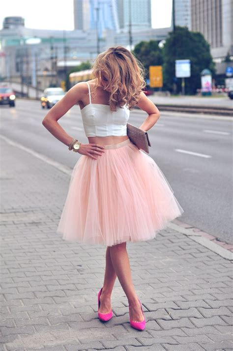 12 Perfect Outfits That Show How To Rock A Tulle Skirt