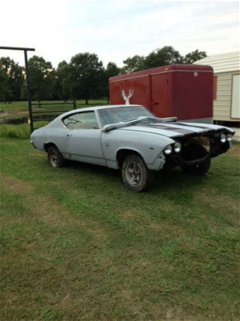 Sell used 1969 Chevelle SS Project in Hull, Texas, United