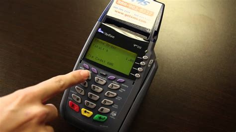 VeriFone Vx510 - Instructions & How To Use Your Credit