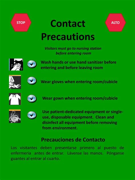 PPT - Contact Precautions PowerPoint Presentation - ID:1816447