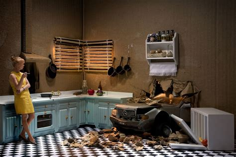 'Box' diorama photos depict life's darker moments framed