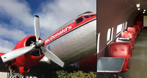 This McDonald's Plane in New Zealand is the Best Place to