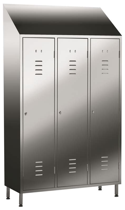 Stainless Steel Lockers by J&K Stainless Solutions Sheffield
