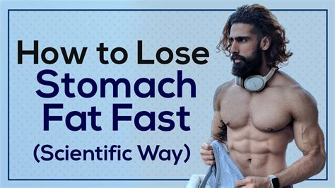 HOW TO LOSE STOMACH FAT in 10 DAYS (Men & Women) - YouTube