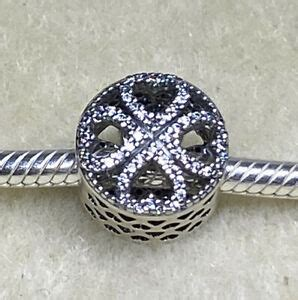 * Authentic Pandora Sterling Silver Petals of Love
