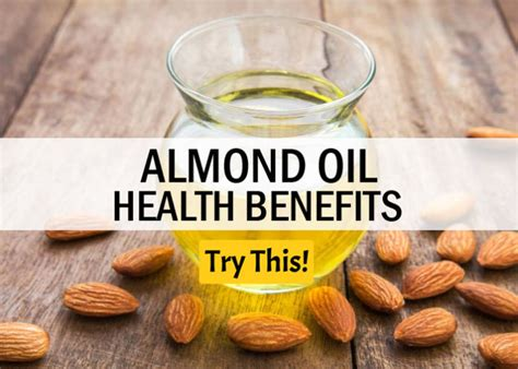 Top 10 Health Benefits of Almond Oil - Health Tips - Try This!