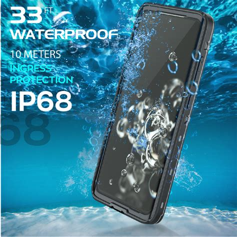 Waterproof Case with Screen Protector For Samsung Galaxy