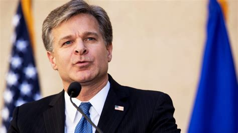 FBI Director Christopher Wray Says Russia Remains a Threat